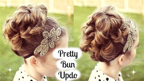 bun updo tutorial for prom wedding braidsandstyles12