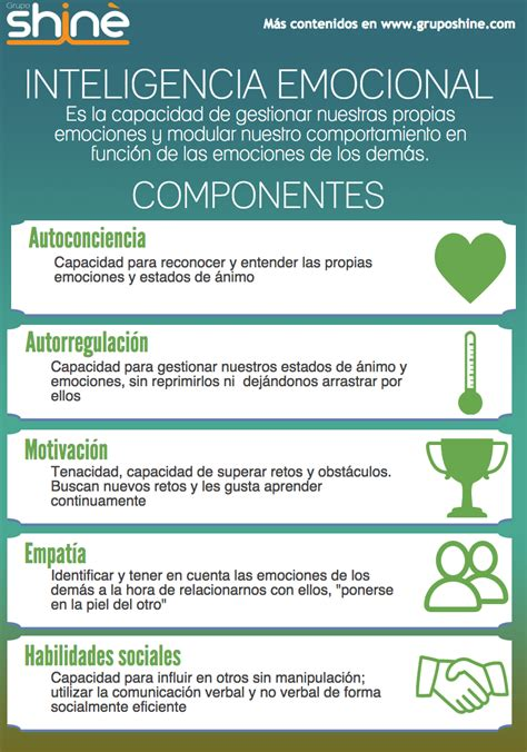 componentes de la inteligencia emocional learninglovers org