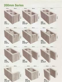 concrete block sizes 200mm green