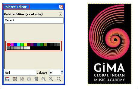 gimp color picker how to use color picker or eye dropper tool gimp tutorial