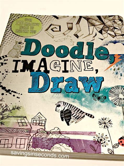 Doodle Imagine Draw Sketch Book