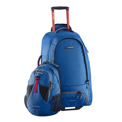 buy travel backpacks with wheels caribee europa 60l wheeled backpack