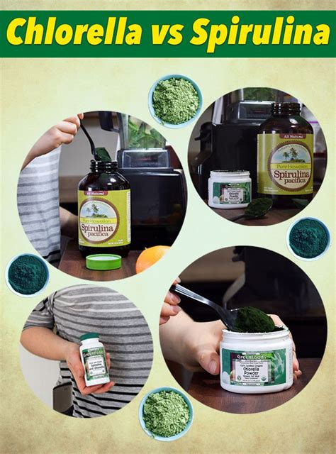 Chlorella Detox While by A Battle For Superfood Supremacy General Health