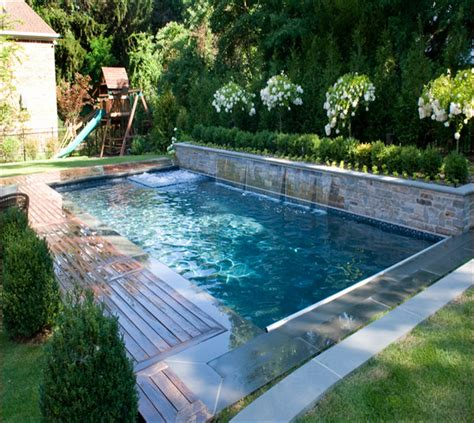 small backyard with pool small inground pools for small yards small pools