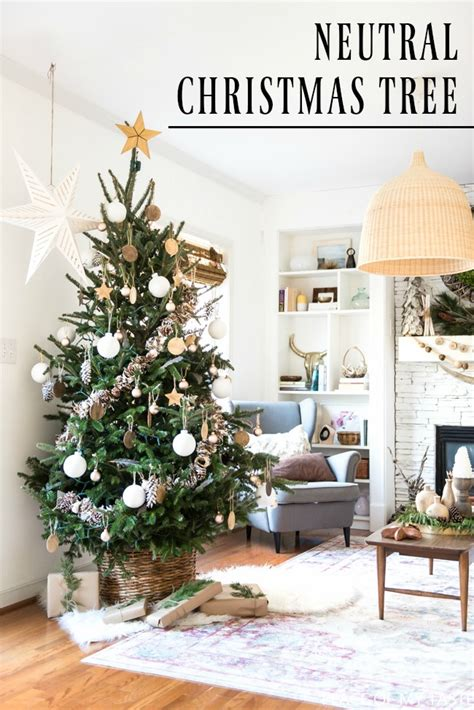 top 28 neutral territory christmas tree decorating