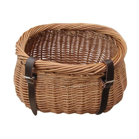bicycle basket buy heritage wicker bicycle basket from the basket company