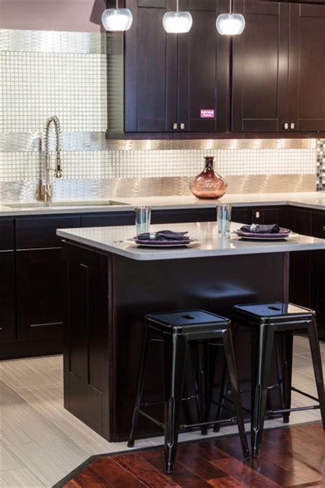 traditional espresso kitchen cabinets kitchen craft knob hill espresso shaker kitchen cabinets traditional