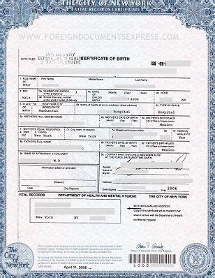 birth certificate with letter of exemplification 25 best ideas about form birth certificate on