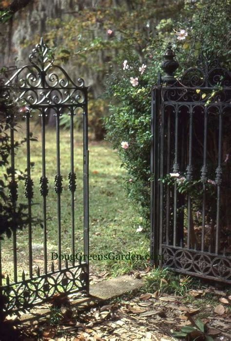 Iron Garden Gates by Formal Iron Gates For A Formal Garden Stairs Rails