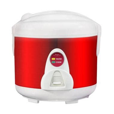 Rice Cooker Maspion Mrj 208 jual maspion mrj 109 ms rice cooker merah 1 2 l