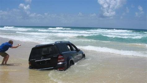 closest boat landing to my location mercedes 4wd a write off after it sinks on fraser island