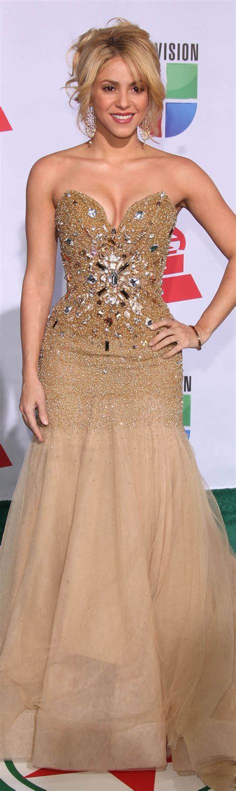 Sharika Dress shakira gold dress strapless evening