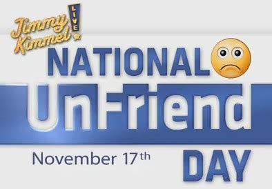 National Detox Day by National Unfriend Day 2011 S Noodle