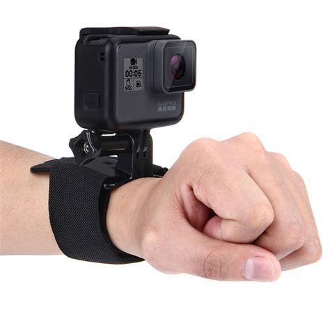 Sjcam Xiaomi puluz wrist arm leg straps 360 degree rotation mount for gopro sjcam xiaomi yi