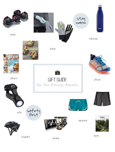 holiday gift guide for the fitness fanatic luv in the