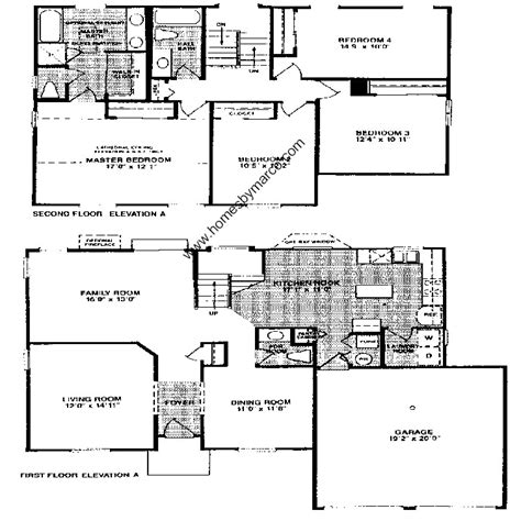 pointe homes floor plans arcadia model in the grosse pointe village subdivision in