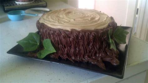 Tree stump cake   Dirty 30 Birthday!   Pinterest   Tree