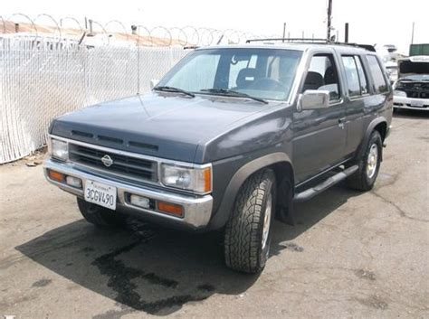 car engine manuals 1993 nissan pathfinder electronic toll collection buy used 1993 nissan pathfinder no reserve in orange california united states