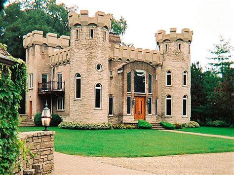small modern castle house plans modern house plan