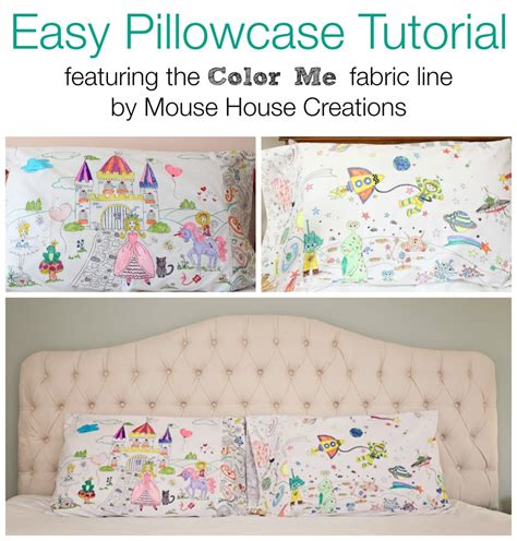easy pillowcase pattern youtube easy pillowcase tutorial featuring color me fabric
