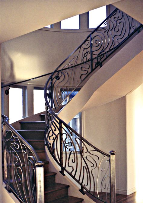 Railings And Banisters Ideas Spiral Staircase Railing By Ou8nrtist2 On Deviantart