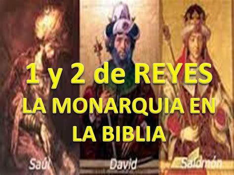 estudios biblicos de 2 samuel estudio b 237 blico a 1y 2 de reyes la monarquia en la biblia