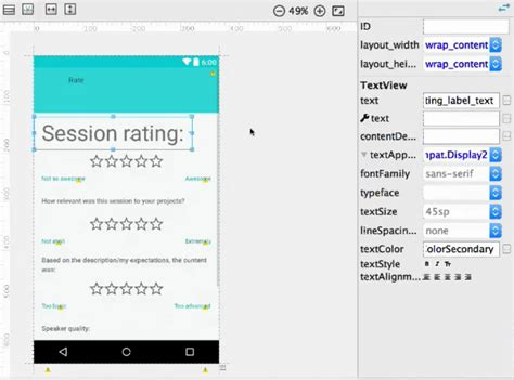 android layout editor online additional details about android studio 2 2 preview