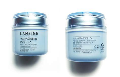 Laneige Water Sleeping Pack Ex laneige water sleeping pack ex review marxie