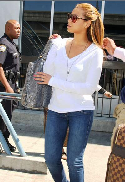 How Do You Rate Beyonces Casual Look by Spotted Beyonce At Lax