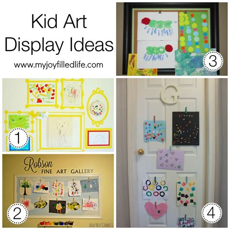 art display ideas ideas for your homeschool room or space my joy filled life
