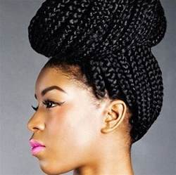 braided updo hairstyle with and wavy hair african braids 15 stunning african hair braiding styles
