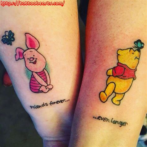 cute small friendship tattoos best friend tattoos unique ideas bff