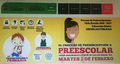que hay en internet inscripciones 2016 2017 primaria inician preinscripciones a preescolar para el ciclo