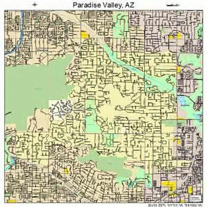 paradise valley arizona map 0452930