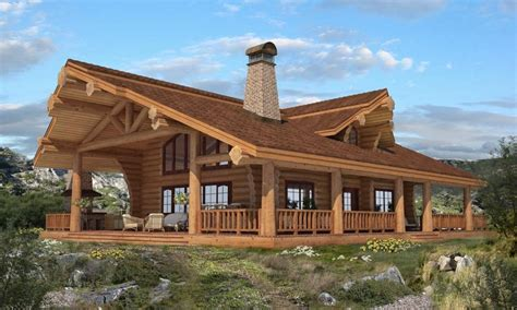 Handcrafted Log Cabins - luxury mountain log homes handcrafted log homes canada