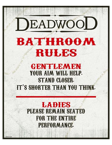 bathroom etiquette sign bathroom rules and etiquette signs