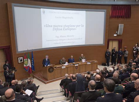 casd inaugurato l anno accademico 2016 2017 difesa