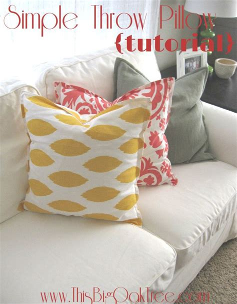 How To Make A Blanket Pillow by 25 Unique Throw Pillows Ideas On Diy