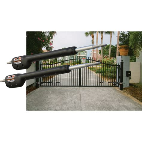dual swing gate openers mighty mule automatic gate opener for dual swing gates