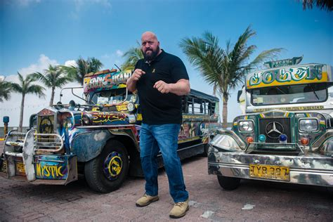 philippine jeepney look big show hangs with jeepneys eats filipino food