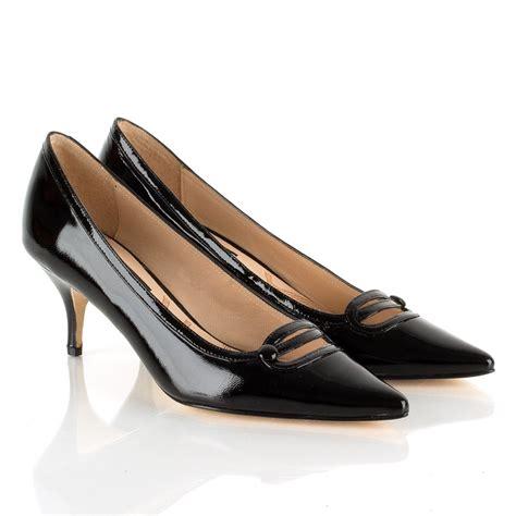 heel shoes choi black antonia women s kitten heel shoe