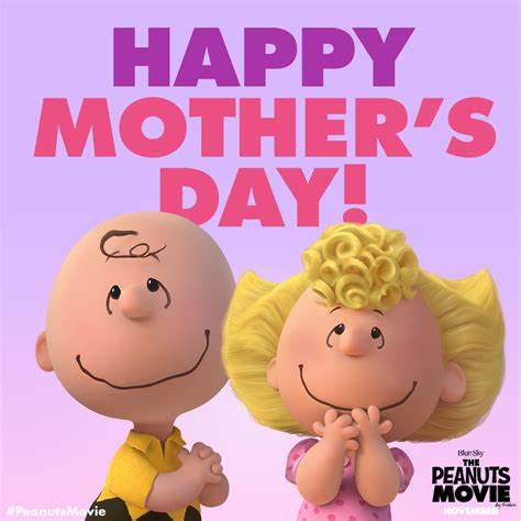 Happy Mothers Day To Sheryl by The Peanuts On Quot Wishing You The Happiest