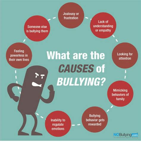 Bullying Causes by Jealousy Or Frustration Lack Of Understanding Someone Else