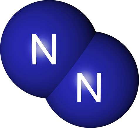 Nitrogen Gas by Nitrogen Gas Nitrogen Gas Molecule