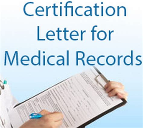 certification letter for records certification letter for record free letters