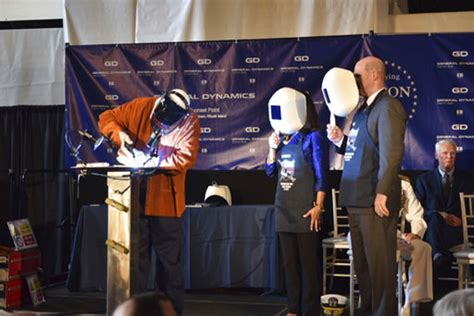 general dynamics electric boat duns keel laying marks official construction of attack subma