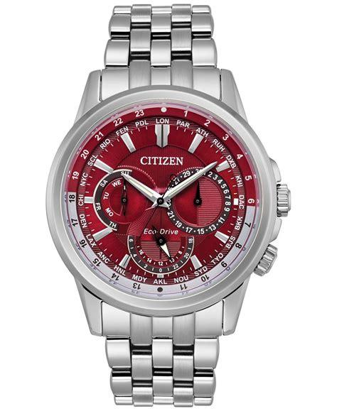 citizen s calendrier stainless steel bracelet