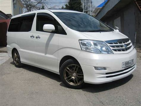 Toyota Alphard 2 4 Review 2006 Toyota Alphard Pictures 2 4l Gasoline Automatic