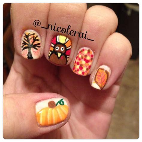 thanksgiving nail art diy thanksgiving nail art