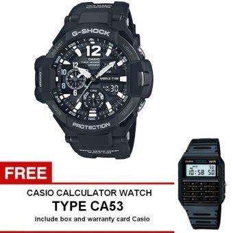 Casio G Shock Ga 100mb 1adr Hitam casio g shock gravitymaster series jam tangan pria hitam